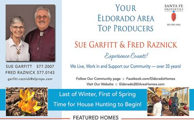 Have you seen our ad in the March issue of Eldorado Living?