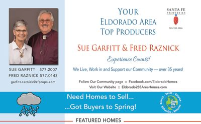 Have you seen our ad in the April issue of Eldorado Living?