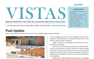 July Vistas Community Newsletter Now Available
