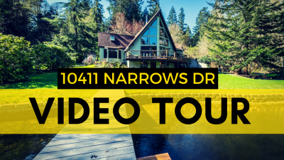 10411 NARROWS DR (VIDEO TOUR) #NewListing #AndersonIslandWA