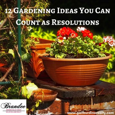 12 Gardening Ideas You Can Count as Resolutions