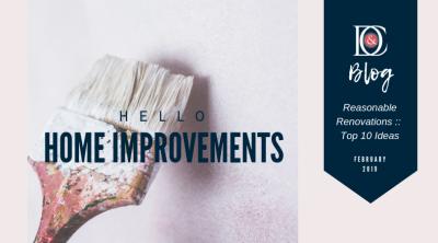 Reasonable Renovations :: 10 Proven Ideas!