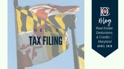 Tax Filing Deductions & Credits :: Maryland