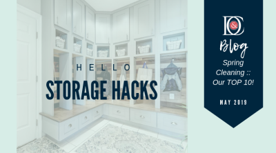 Storage Hacks :: Spring Cleaning Our Top Ten