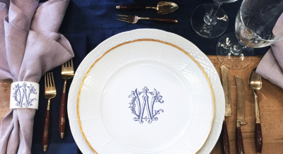 CUSTOM DINNERWARE – A UNIQUELY YOURS TREND