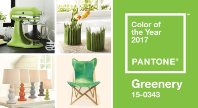 Go Green with the 2017 Color of the Year