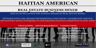 Haitian-American Real Estate Business Mixer 4-16-2019