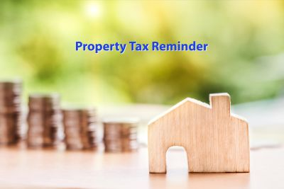 Reminder: The due date for the Second Installment Cook County 2018 Property Tax Bill is Thursday August 1, 2019