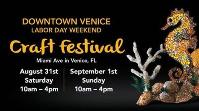 Labor Day Weekend Venice Craft Festival