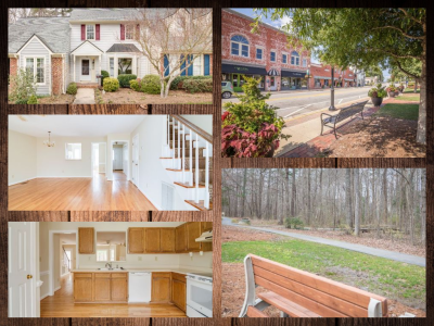 Quaint 3 bed 2.5 bath Apex Townhome