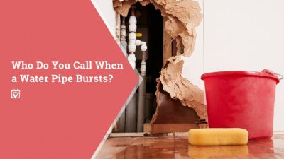 When a Pipe Bursts, Who Do You Call?