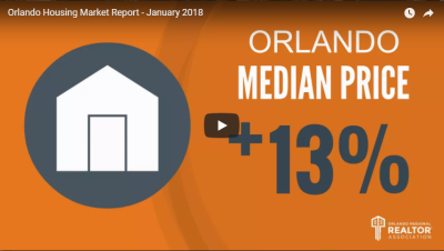 Orlando Housing Market Report – January 2018