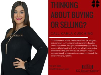 Thinking about buying or selling? Contact us!