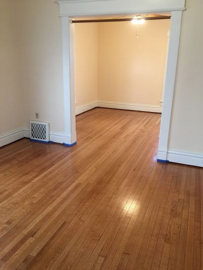 The 1920's Rehab floors are DONE!!!