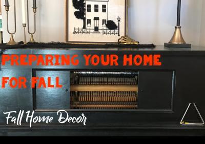 Preparing for Fall: Home Decor