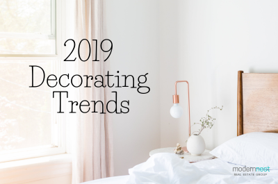 2019 Decorating Trends