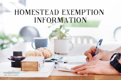 Homestead Exemption Information