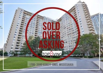 Just Sold! at 3590 Kaneff Dr. Mississauga