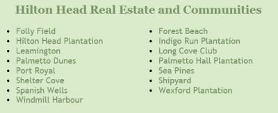 Hilton Head Real Estate Communities