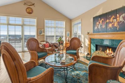 JUST SOLD! 4BR, 3BA Ranch Townhome with Views of Player 17, Ponds and Lake Como | 1109 Terrace Ct, Lake Geneva WI