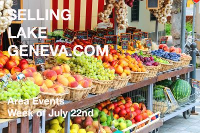 Lake Geneva Area Events | July 22nd – 28th, 2019
