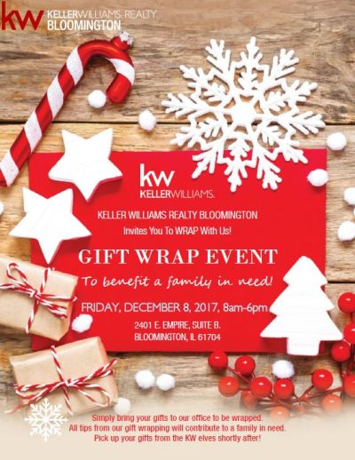 Free Gift Wrap Event Dec. 8
