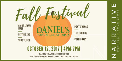 Fall Festival at Daniel's Farm & Greenhouses