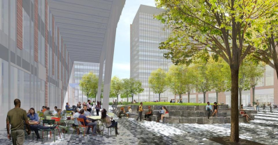 European-Inspired Plaza Set to be Constructed in Boston's South End