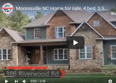 Mooresville NC Home for sale, 4 bed, 3.5 bath on 2.5 acres VLOG # 158
