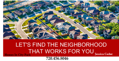 LET'S FIND THE NEIGHBORHOOD THAT WORKS FOR YOU