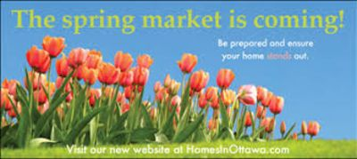 Tips for preparing your house for the Spring market
