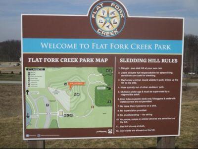 Flatfork Creek Park in Fishers