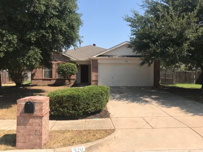 New Listing 920 Greenbend Drive Denton TX 76210