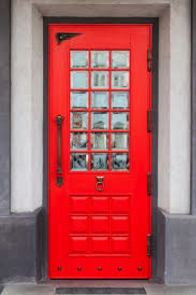 Red Doors in Scotland