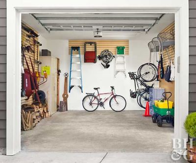 Genius Garage Storage Hacks