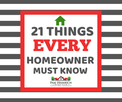 21 Things Every Homeowner Must Know