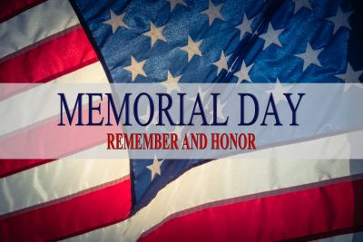 Happy Memorial Day ~ Remember & Honor