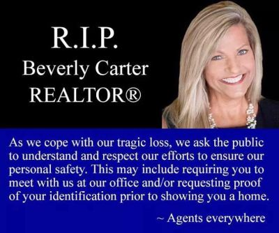 RIP Beverly Carter