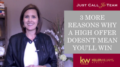 3 More Reasons Why a High Offer Doesn't Mean You'll Win