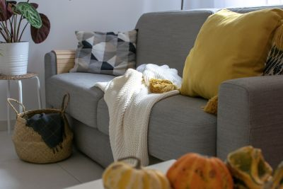 Make a Comfy and Cozy Space This Fall