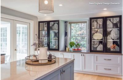 Kitchen of the Week: Big Leaves and Shades of Blue