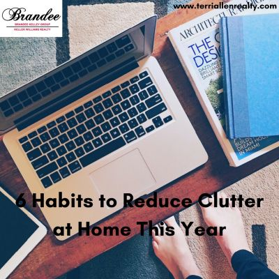 6 Habits to Reduce Clutter at Home This Year