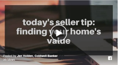 Todays Seller Tip: Finding Your Home's Value