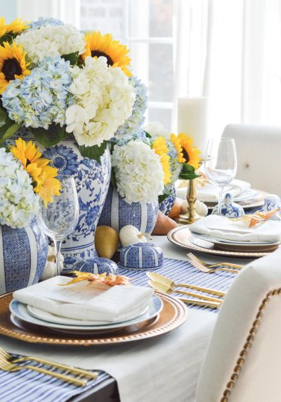 Southern Hospitality – A Nontraditional Autumn Tablescape with Classic Charm