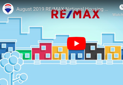 RE/MAX Housing Report August 2019