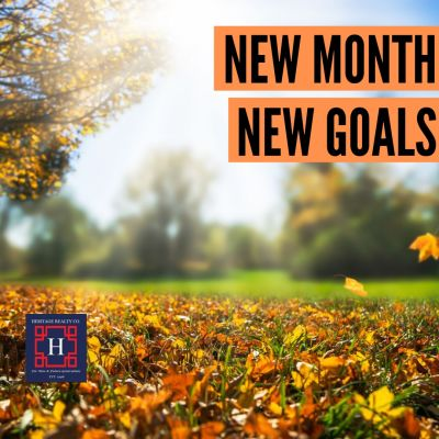 NEW MONTH NEW GOALS