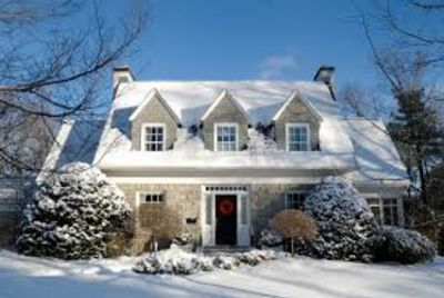 List your home for sale in the winter!