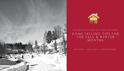 Selling Tips for your home in the Fall and Winter Months