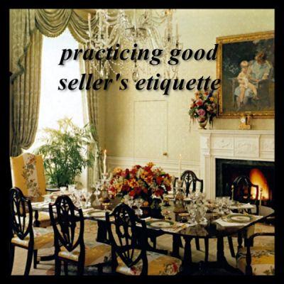 Seller Etiquette