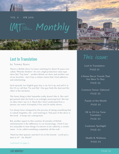 Lost in translation – LMT Monthly – April 2019
